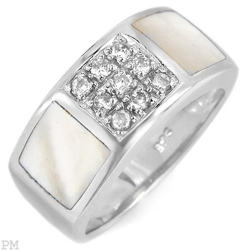 PA splash of class with over 16ctw of high density CZ wrapped in sterling silver.