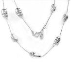 Boma17 inch Solid Sterling Silver necklace