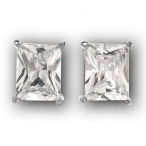 Sterling Silver 7.42 ctw earrings